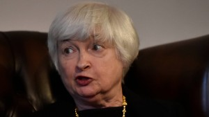 Amerikas Notenbank-Chefin war im Krankenhaus
