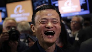 Alibaba stürmt die Wall Street