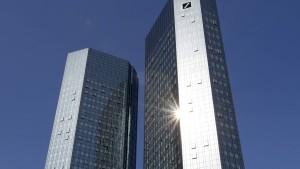 Amerika verklagt die Deutsche Bank