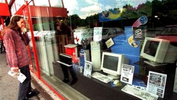 Einbruch der PC-Verkäufe in Deutschland