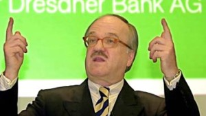 Dresdner Bank streicht Privilegien für ehemalige Vorstände