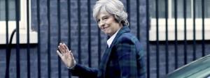 Theresa May strebt ein Freihandelsabkommen mit der EU an.