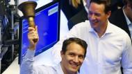 Oliver Samwer beim Börsengang von Rocket Internet