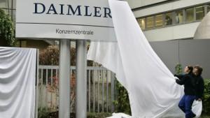 Daimler will restlichen Chrysler-Anteil abgeben