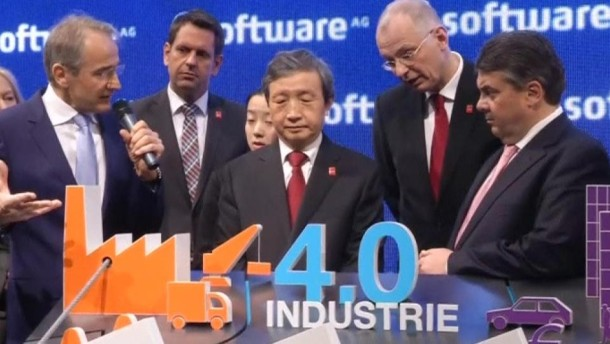 """""""Industrie 4.0"""" auf der CeBit"""