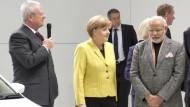 Diskussionen um VW-Vorstandschef Winterkorn