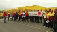Streik bei der Deutschen Post