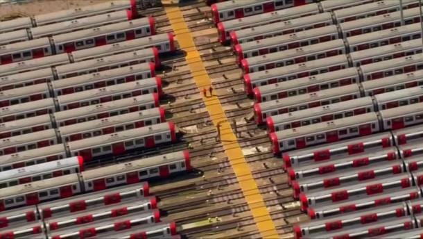 U-Bahnstreik führt zu Chaos in London
