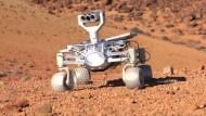 Berliner Roboter soll über den Mond rollen
