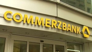 Die Commerzbank führt den Dax nach unten