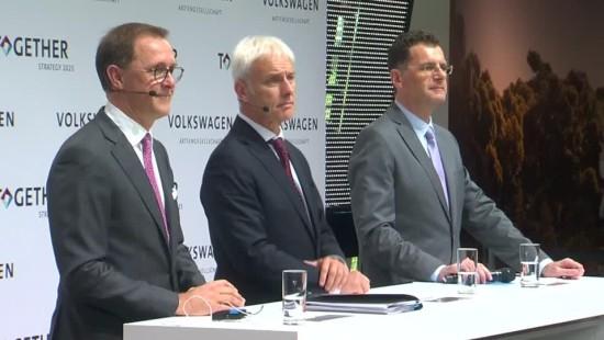 Volkswagen will Milliarden in Zukunftsgeschäfte investieren