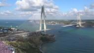 Neue Megabrücke über den Bosporus
