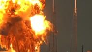 Video zeigt SpaceX-Raketenexplosion