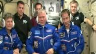 Neue Besatzungsmitglieder treffen auf ISS ein