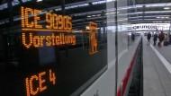 Tarifkonflikt bei der Bahn dauert an