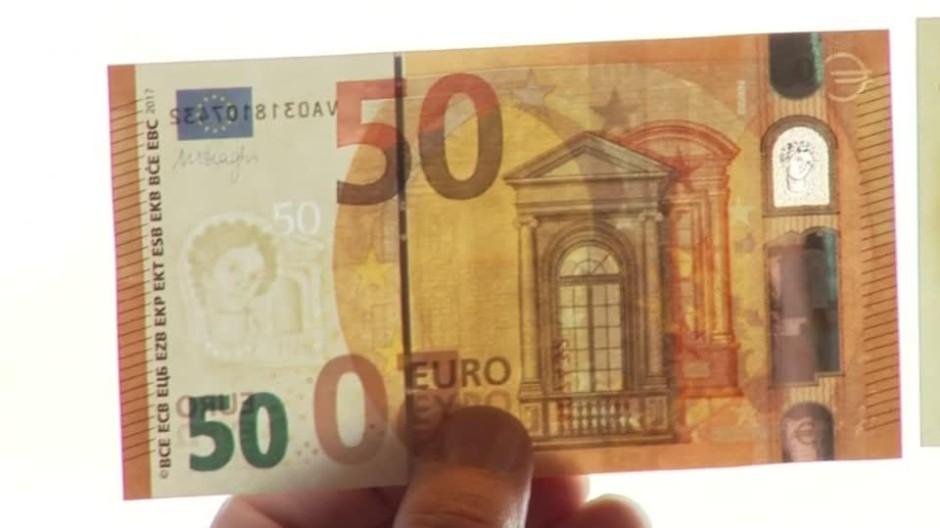 50 Euro Schein Das Ist Der Neue Funfziger