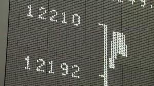 Aktienkurse nähern sich zögerlich Rekordhochs