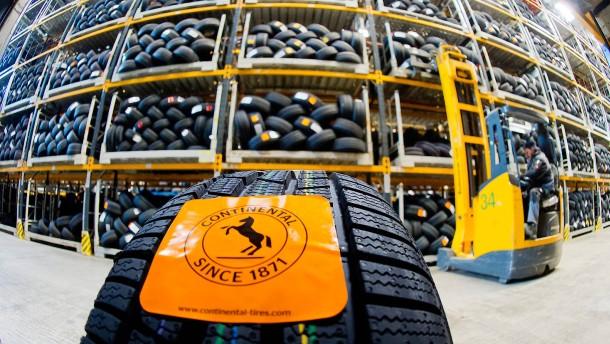 Conti erhöht die Reifenpreise