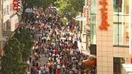 Die meistbesuchten Einkaufsstraßen Deutschlands