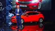 Opel-Chef Karl-Thomas Neumann auf der Automesse in Frankfurt