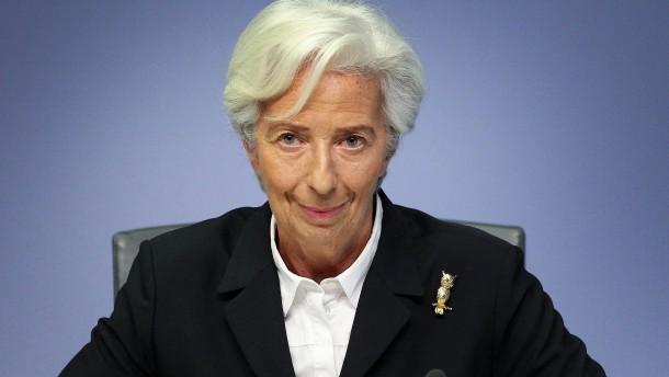 Die politische Notenbankerin