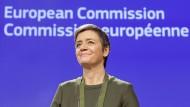 Zufrieden: EU-Wettbewerbskommissarin Margrethe Vestager