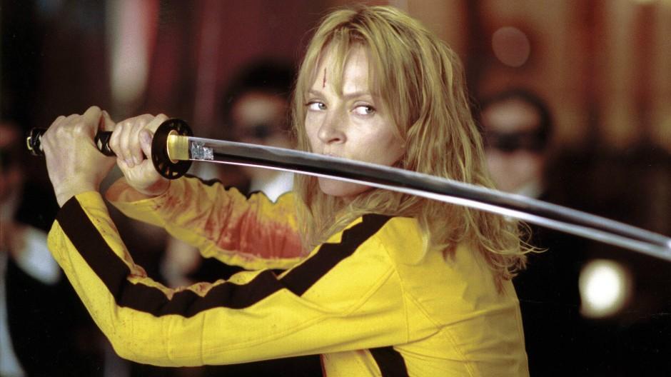 Scharfes Schwert - in Kill Bill ist Rache angesagt.