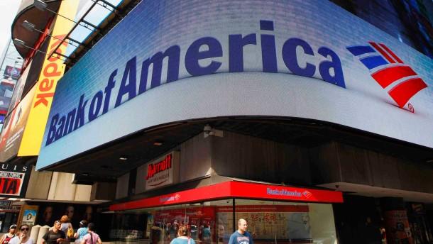 Bank of America des Hypothekenbetrugs schuldig gesprochen