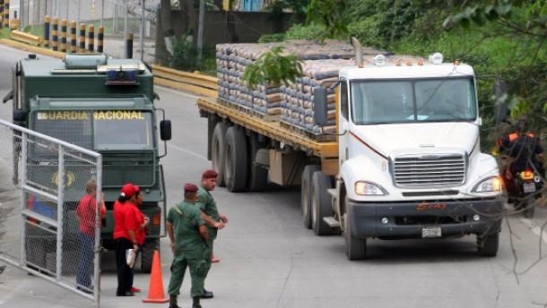 Venezuela lässt Zementwerke vom Militär besetzen