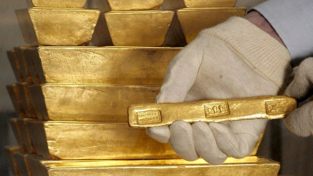 Griechen retten sich in Gold