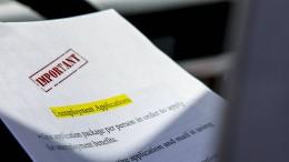 Anträge auf Arbeitslosenhilfe weiter auf hohem Niveau