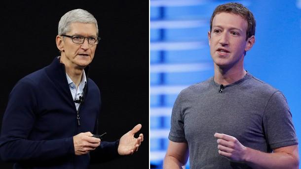Was Sie über den Streit der Tech-Riesen wissen müssen