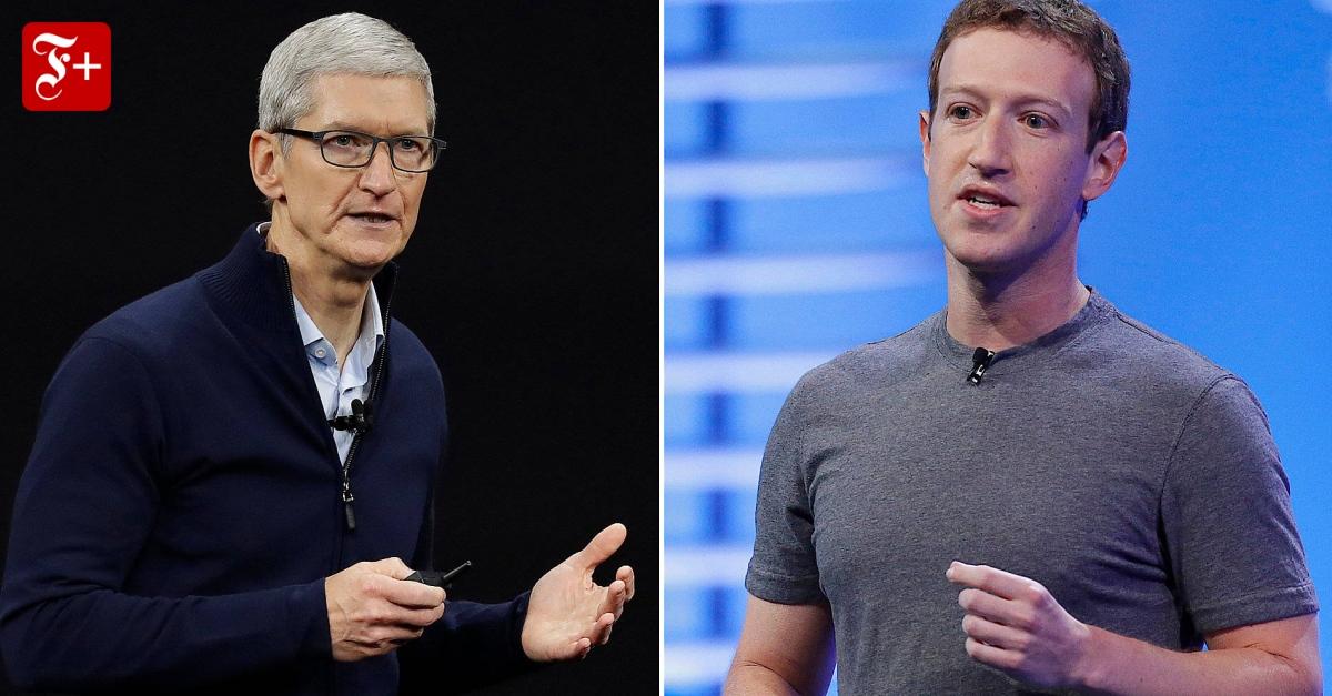 Was Sie über den Streit der Tech-Riesen wissen müssen - FAZ - Frankfurter Allgemeine Zeitung