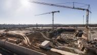 """Heute war Grundsteinlegung der """"Factory 56"""" in Sindelfingen."""