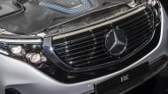 Mehr als 400 PS hat der neue Mercedes-Benz EQC.