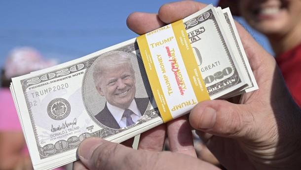 Trumps finanzielle Talfahrt
