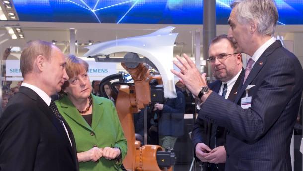 Russische Bahn wirbt um früheren Siemens-Chef