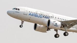 Neuer Airbus erstmals in der Luft