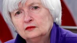 Yellen sieht Gefahr neuer Finanzkrise
