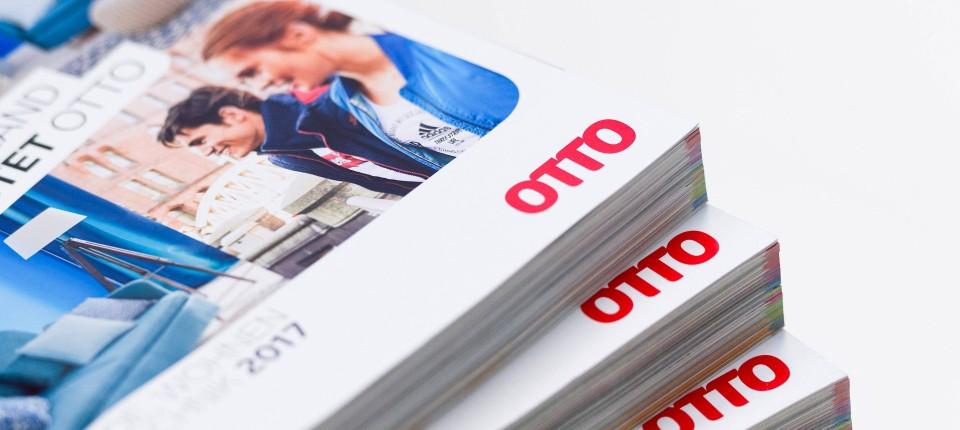 """Otto sagt """"Tschüss"""" zu seinem gedruckten Hauptkatalog"""