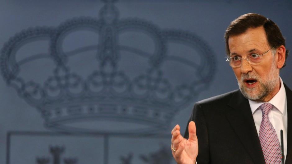 Spaniens Premierminister Mariano Rajoy