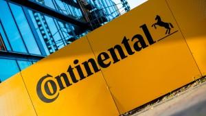 Continental plant Abspaltung von Antriebsgeschäft
