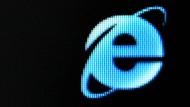 Der Internet Explorer von Microsoft