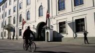 Optimismus in Riga: Der Sitz des lettischen Präsidenten