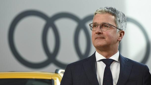 Razzia in der Audi-Zentrale