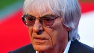 Bernie Ecclestone ist gerade 83 Jahre alt geworden.