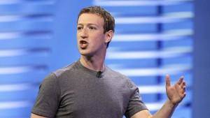 Zuckerberg stellt sich gegen Trump