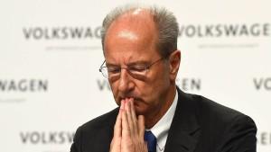 VW-Aufsichtsratschef: Es wird viel mehr Konsequenzen geben