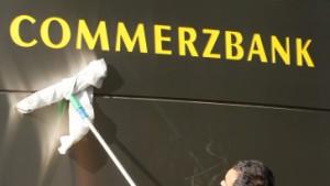 Gewinneinbruch bei der Commerzbank