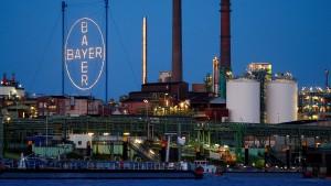 Bayer-Aktienkurs gibt Gewinne ab